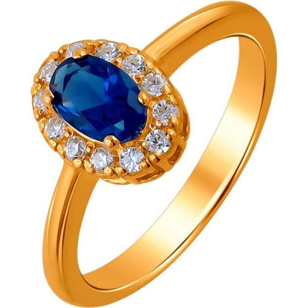 Кольцо женское Эстет 01К256899А-1 р.18