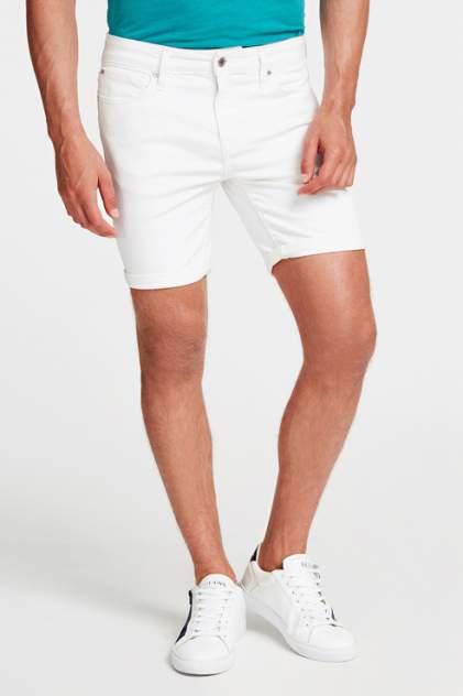 Джинсовые шорты мужские Guess M02D03D3ZY1 белые 48