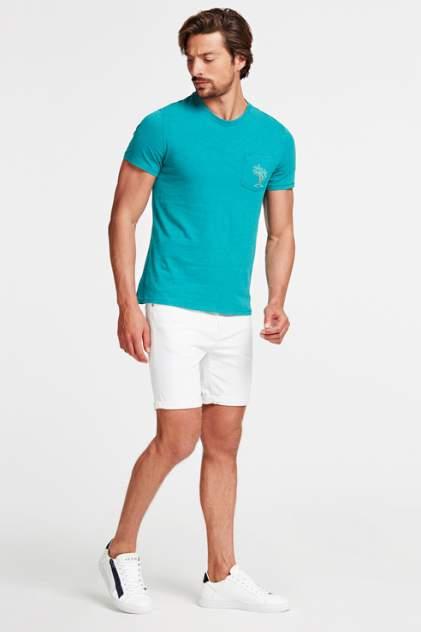 Джинсовые шорты мужские Guess M02D03D3ZY1 белые 52