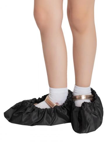 Бахилы для обуви RINIDI многоразовые детские Black