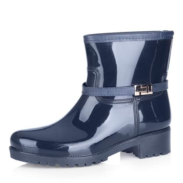 Резиновые ботинки женские Respect 888252/02 синие 40 RU