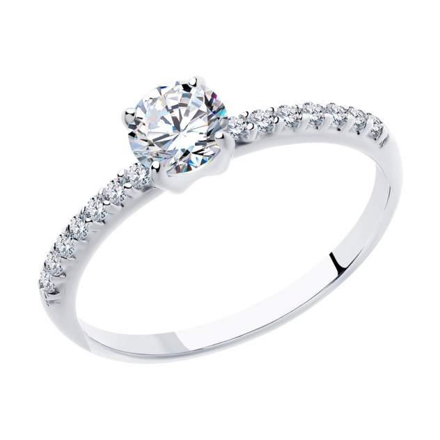 Кольцо женское SOKOLOV из серебра с фианитами 94012944 р.17.5