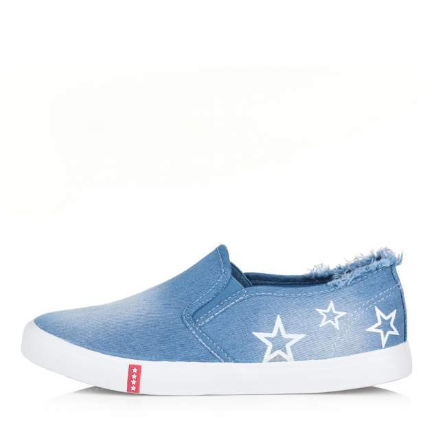 Слипоны женские Respect BS037-081 синие 38 RU