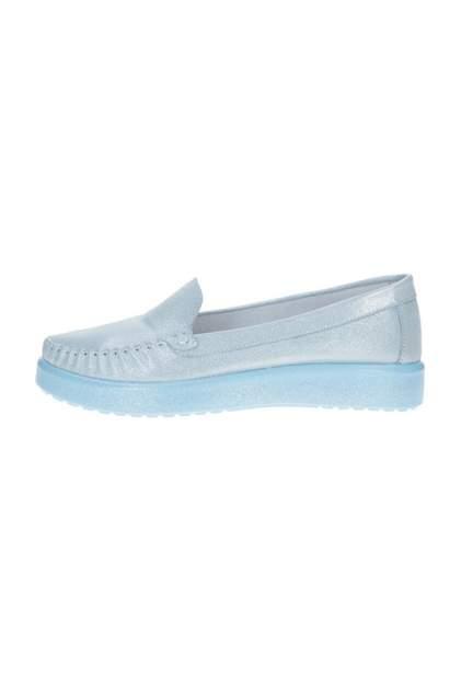 Мокасины женские GOTIME 922 голубые 36 RU
