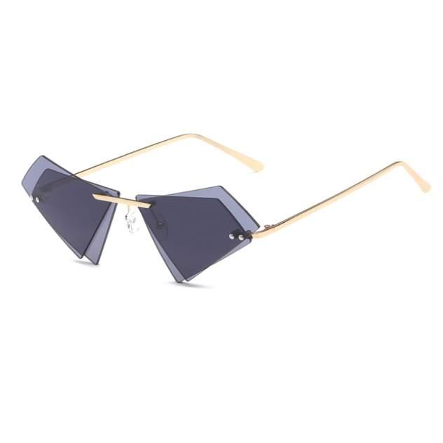 Солнцезащитные очки двойные Kawaii Factory KW010-000291 серые