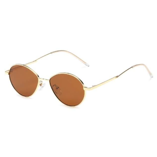 Солнцезащитные очки Kawaii Factory Капля коричневые