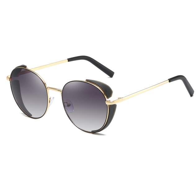 Солнцезащитные очки Kawaii Factory Шарм черные