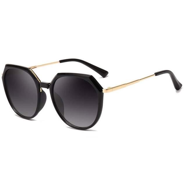 Солнцезащитные очки Kawaii Factory Бельви черные