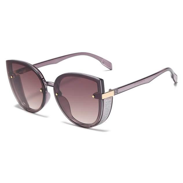 Солнцезащитные очки Kawaii Factory Винчи темный чай