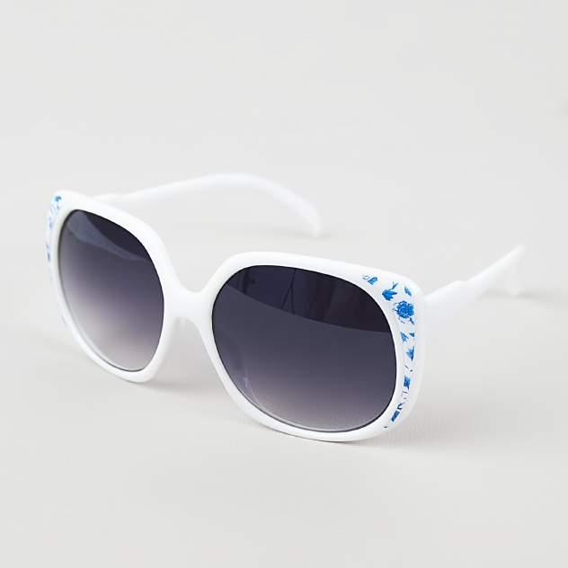 Солнцезащитные очки узорчатые Kawaii Factory MR017-000037 белые