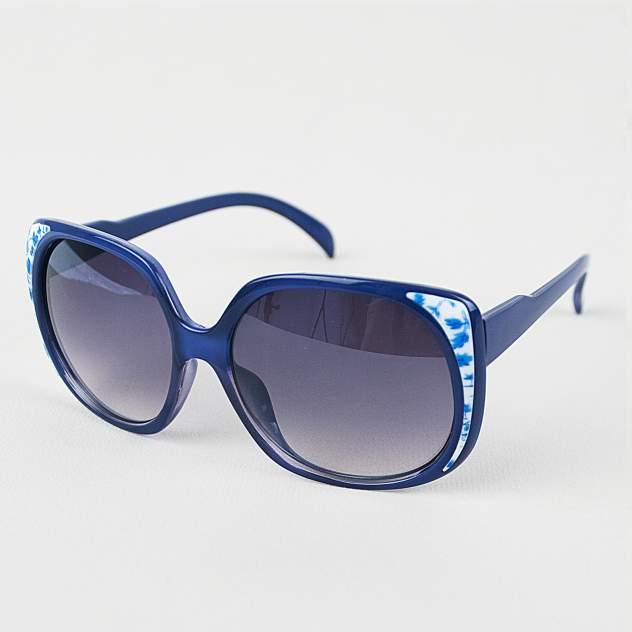 Солнцезащитные очки узорчатые Kawaii Factory MR017-000038 синие