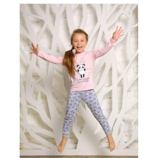 Пижама детская KOTTONI, цв. розовый р.110