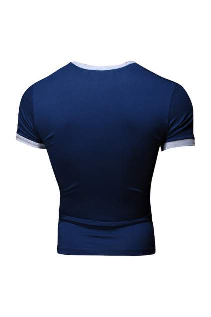 Футболка мужская Envy Lab SH011 синяя 5XL