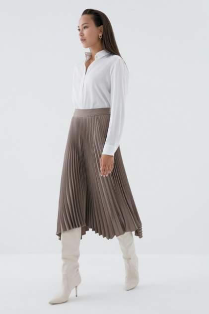 Женская юбка ZARINA 0328221211, коричневый