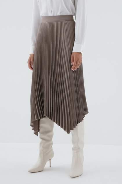 Юбка женская ZARINA 328221211 коричневая 44