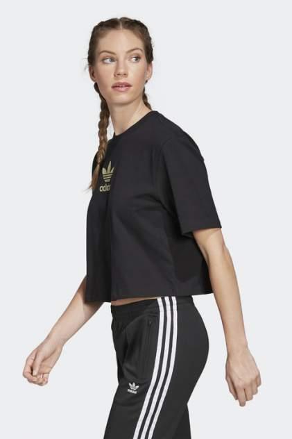 Футболка женская Adidas FM2630 черная 34