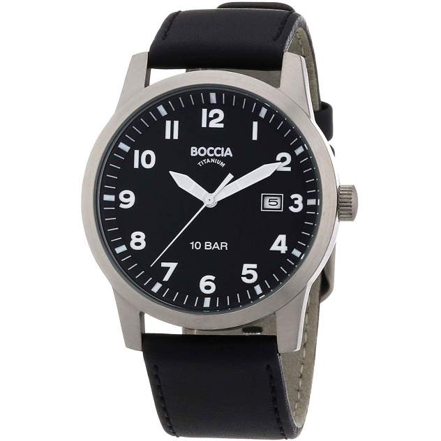 Наручные часы кварцевые мужские Boccia Titanium 3631