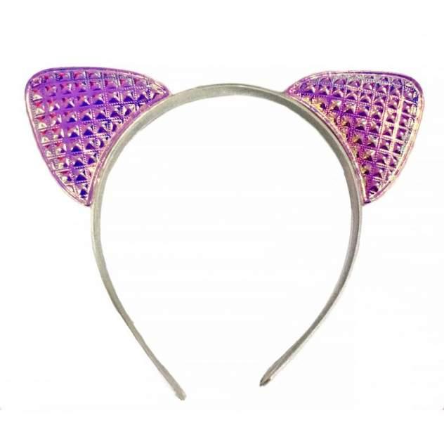 Ободок карнавальный Розовые ушки