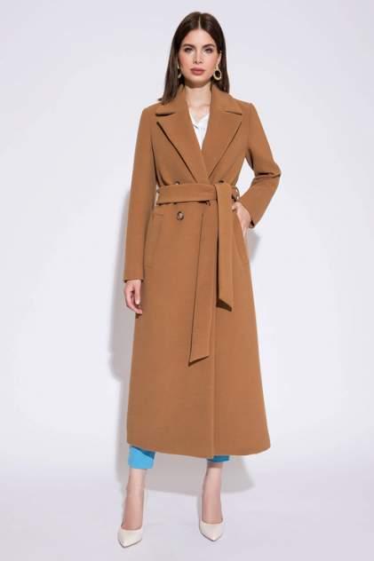 Женское пальто ElectraStyle 6-0127-021, коричневый
