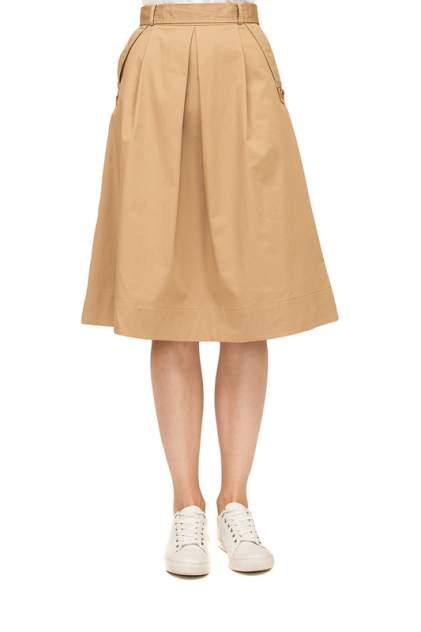 Юбка женская LUSIO TSLS-032014 коричневая XS