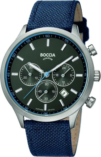Наручные часы кварцевые мужские Boccia Titanium 3750