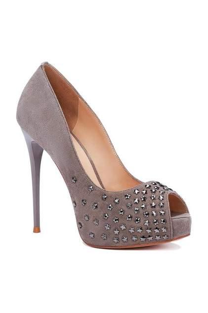 Туфли женские Vitacci 148460 серые 40 RU