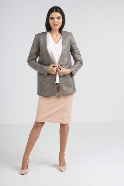 Жакет женский LA VIDA RICA J72022/ серый 42