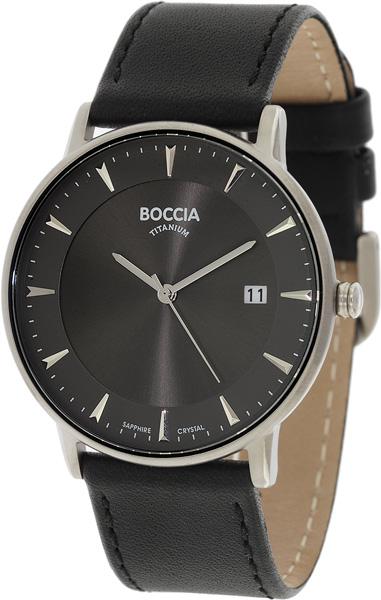 Наручные часы кварцевые мужские Boccia Titanium 3607