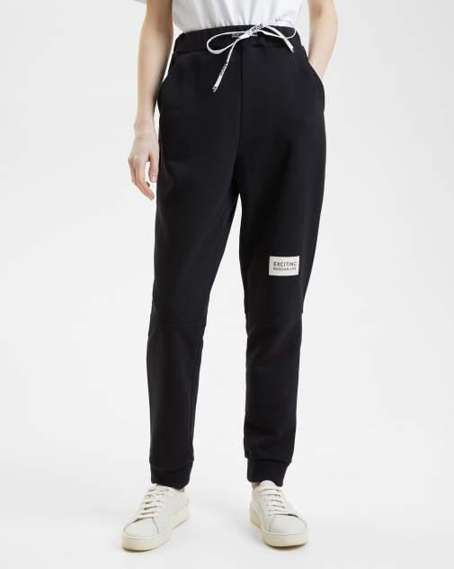 Женские спортивные брюки BARMARISKA с шевроном, черный