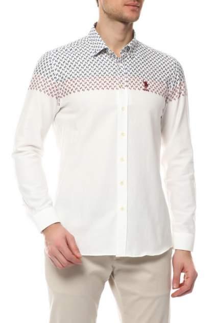 Рубашка мужская U.S. POLO Assn. G081SZ0040TROSSARD бежевая S