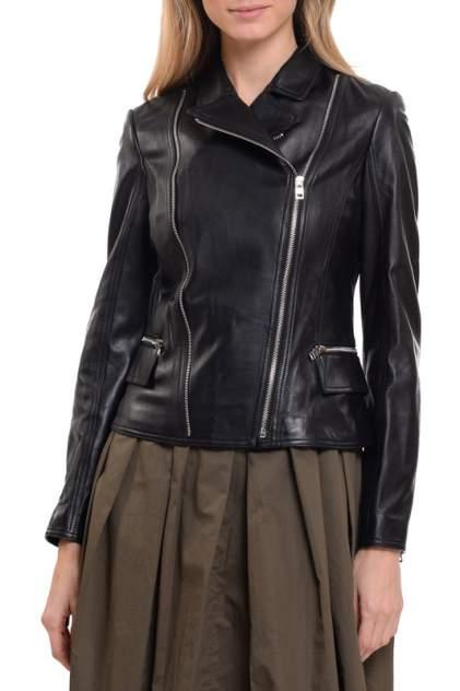 Кожаная куртка женская LUSIO AF18-050007 черная S