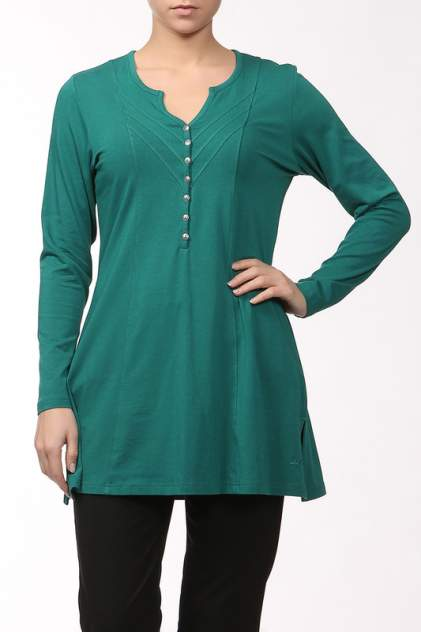 Блуза женская LAURIE 49639 зеленая 42