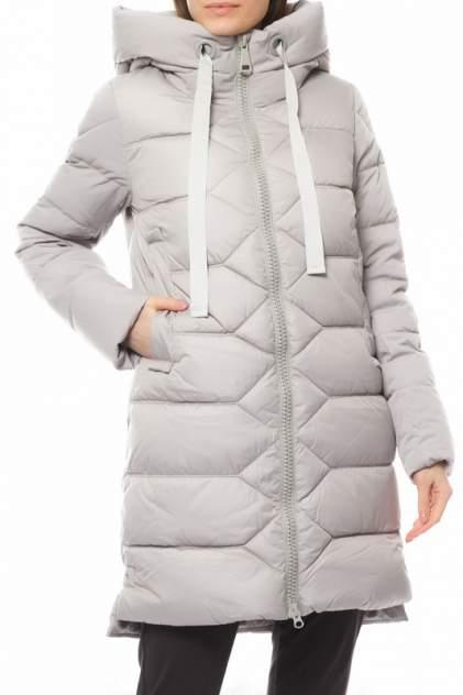 Пуховик-пальто женское СНЕЖНАЯ КОРОЛЕВА 247570000 серое 44