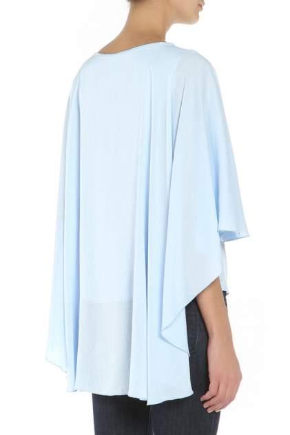 Блуза женская Adzhedo 70062 голубая 6XL
