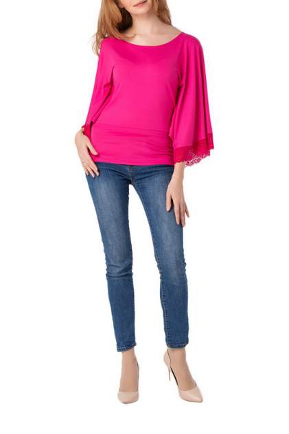 Блуза женская Adzhedo 70169 красная 4XL