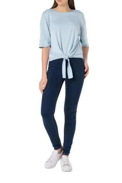Блуза женская Adzhedo 7020 голубая 4XL