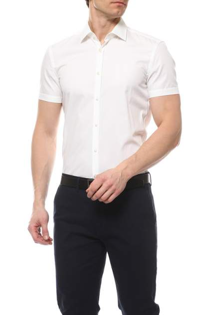Рубашка мужская HUGO BOSS 50285166/100 белая 40