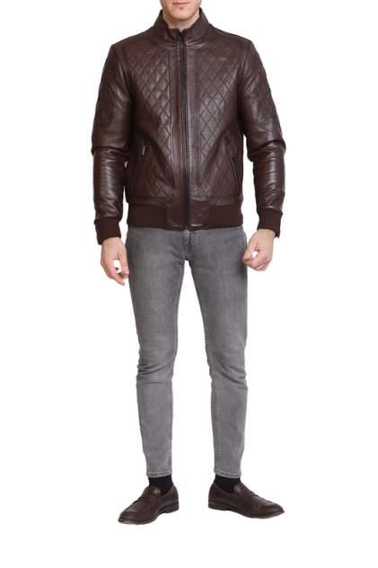Кожаная куртка мужская EXPO FUR DK-959 бежевая 60