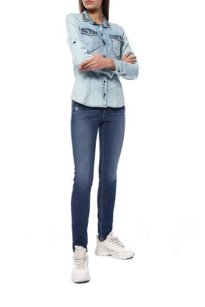 Рубашка женская EMANSIPE 5533150 голубая 42
