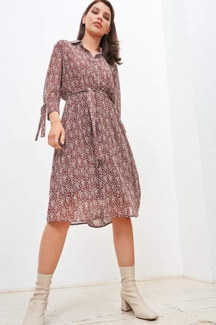 Платье женское Vittoria Vicci 1907-01-52076 коричневое 46