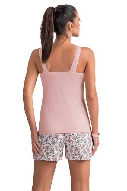 Пижама женская Donna Daria розовая XL