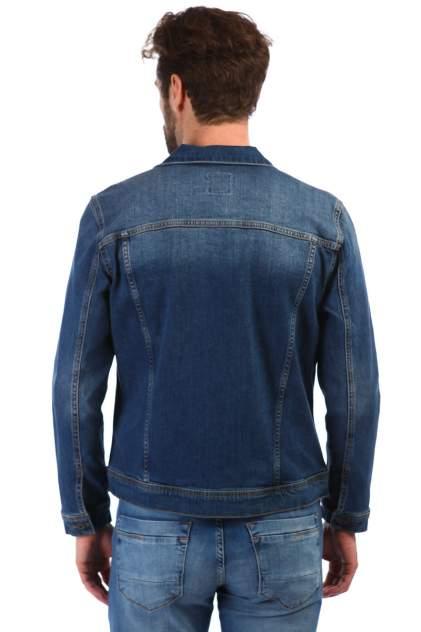 Джинсовая куртка мужская A passion play SQ61045 синяя L