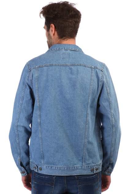 Джинсовая куртка мужская A passion play SQ61095 синяя 3XL
