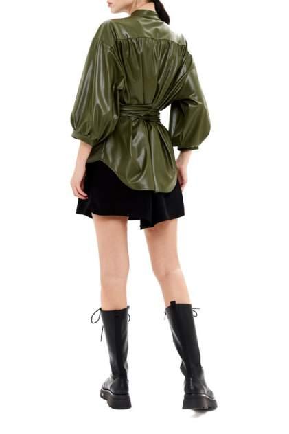 Рубашка женская 37THAVENUE 656AV зеленая 40-46