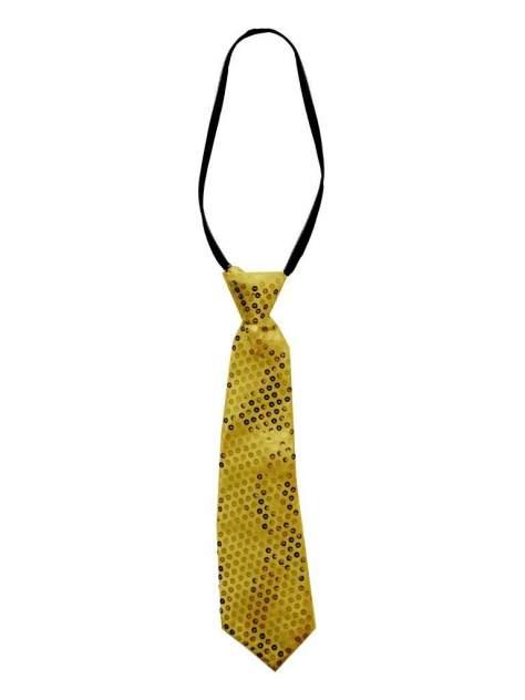 Маскарадный галстук, золотой