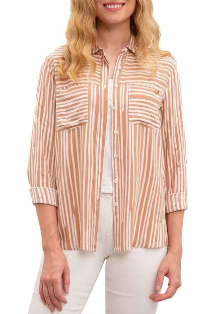 Рубашка женская U.S. POLO Assn. G082SZ0040SOW бежевая 38