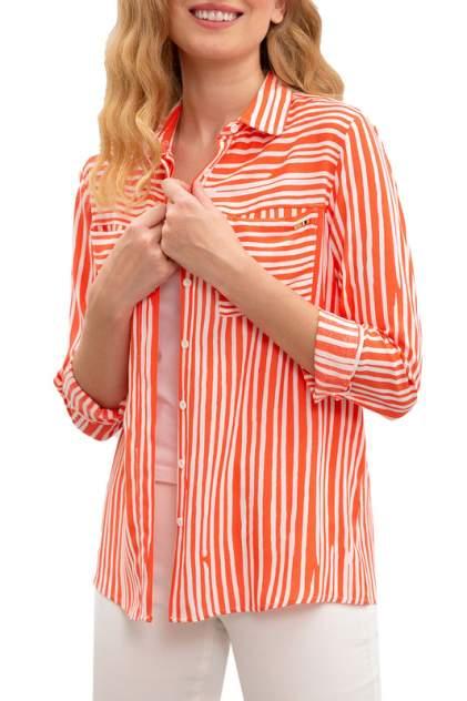 Рубашка женская U.S. POLO Assn. G082SZ0040SOW розовая 38