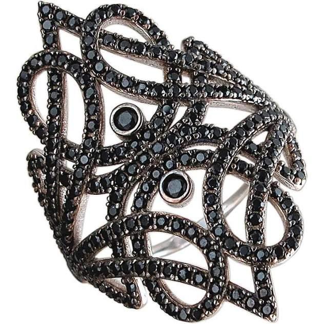 Кольцо женское Эстет 01К2510191-1Ч р.17.5