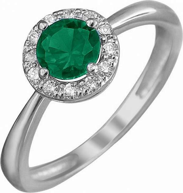 Кольцо женское Эстет 01К258521-2 р.17.5