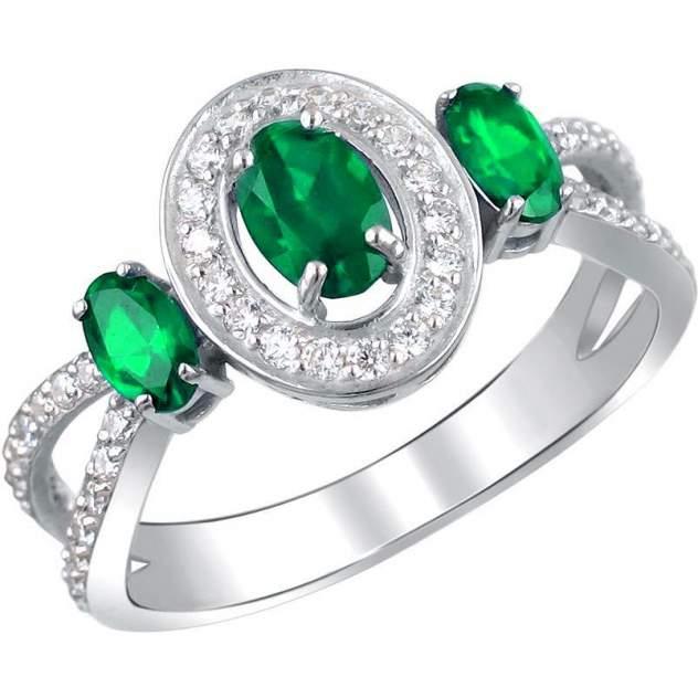 Кольцо женское Эстет 01К255337-2 р.18.5